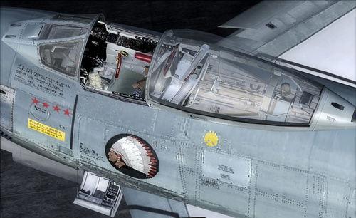 North American F-86 EF Sabre FSX