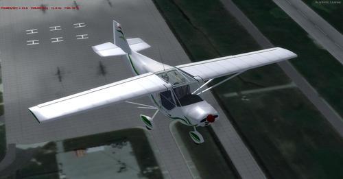 ልዕለ Guepard 912 FSX እና P3D
