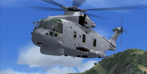 Virtavia Westland Merlin EH101 FSX  &  P3D