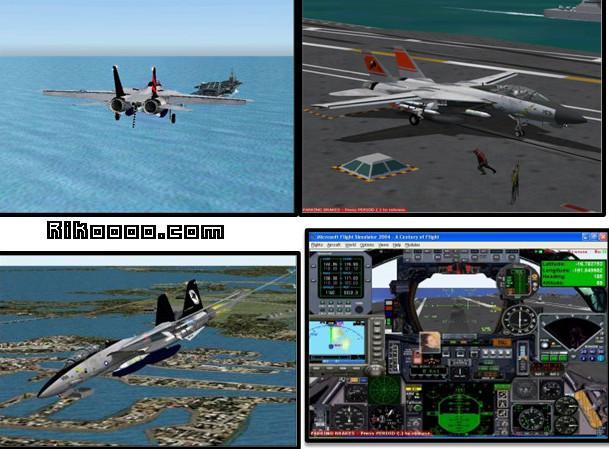porte avion fs2004