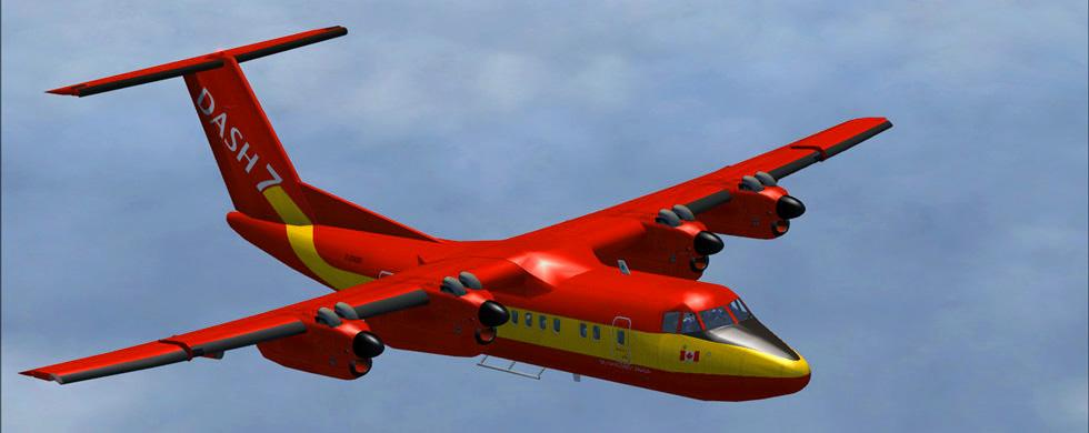 Intro DeHavilland Dash 7 FS9-FSX