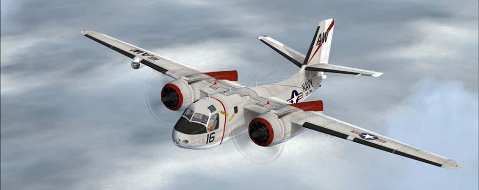 Intro Grumman S2F-3 Tracker FSX P3D Package