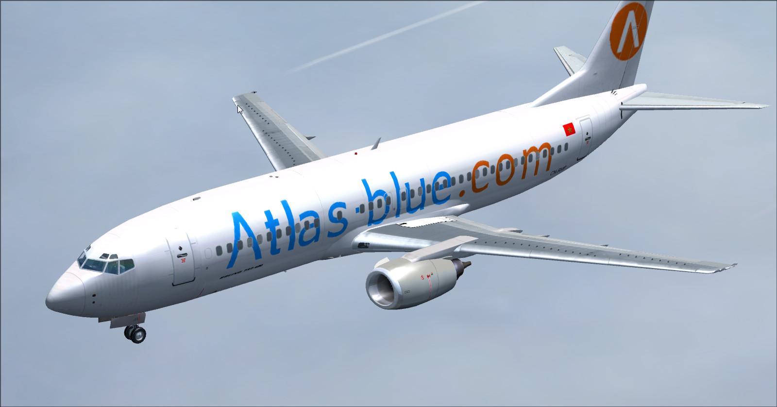 Boeing 737 400-Atlas-Azul