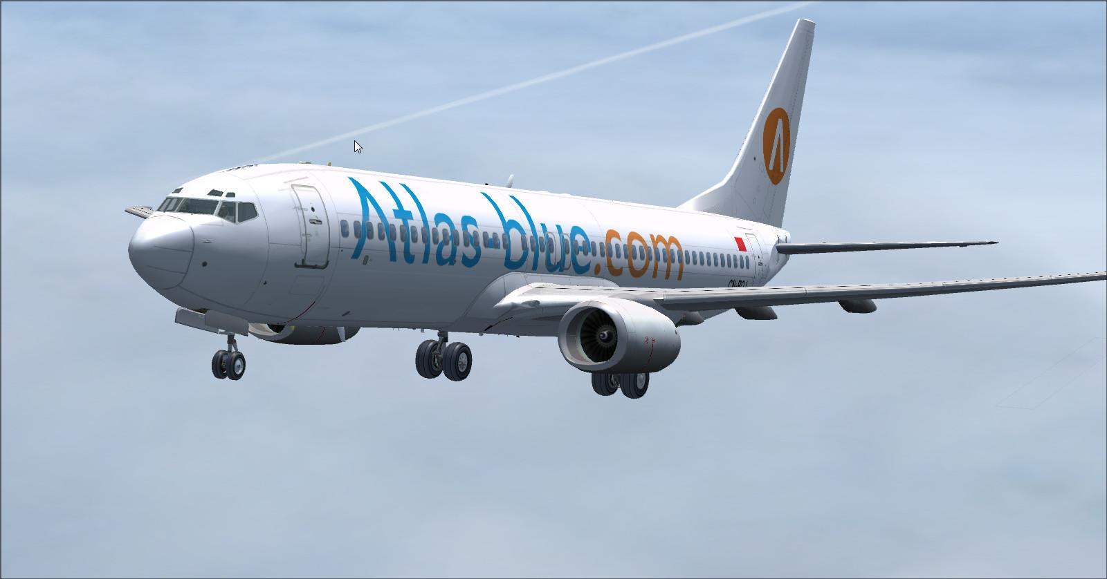 Boeing 737 800-Atlas-Azul