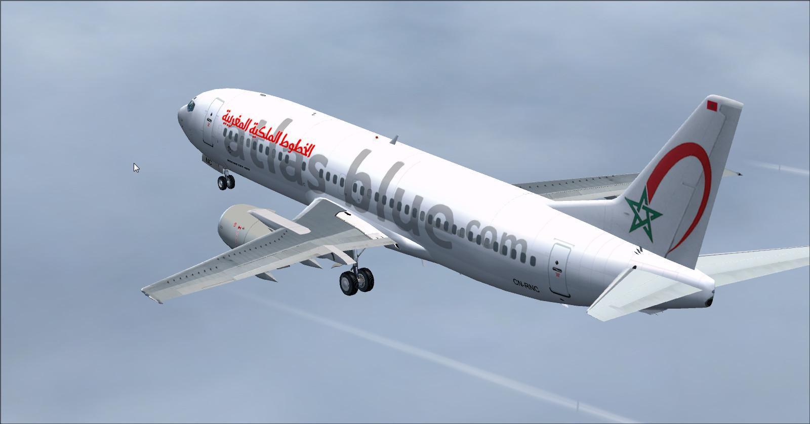 Boeing 737 400-Atlas-Azul Nova