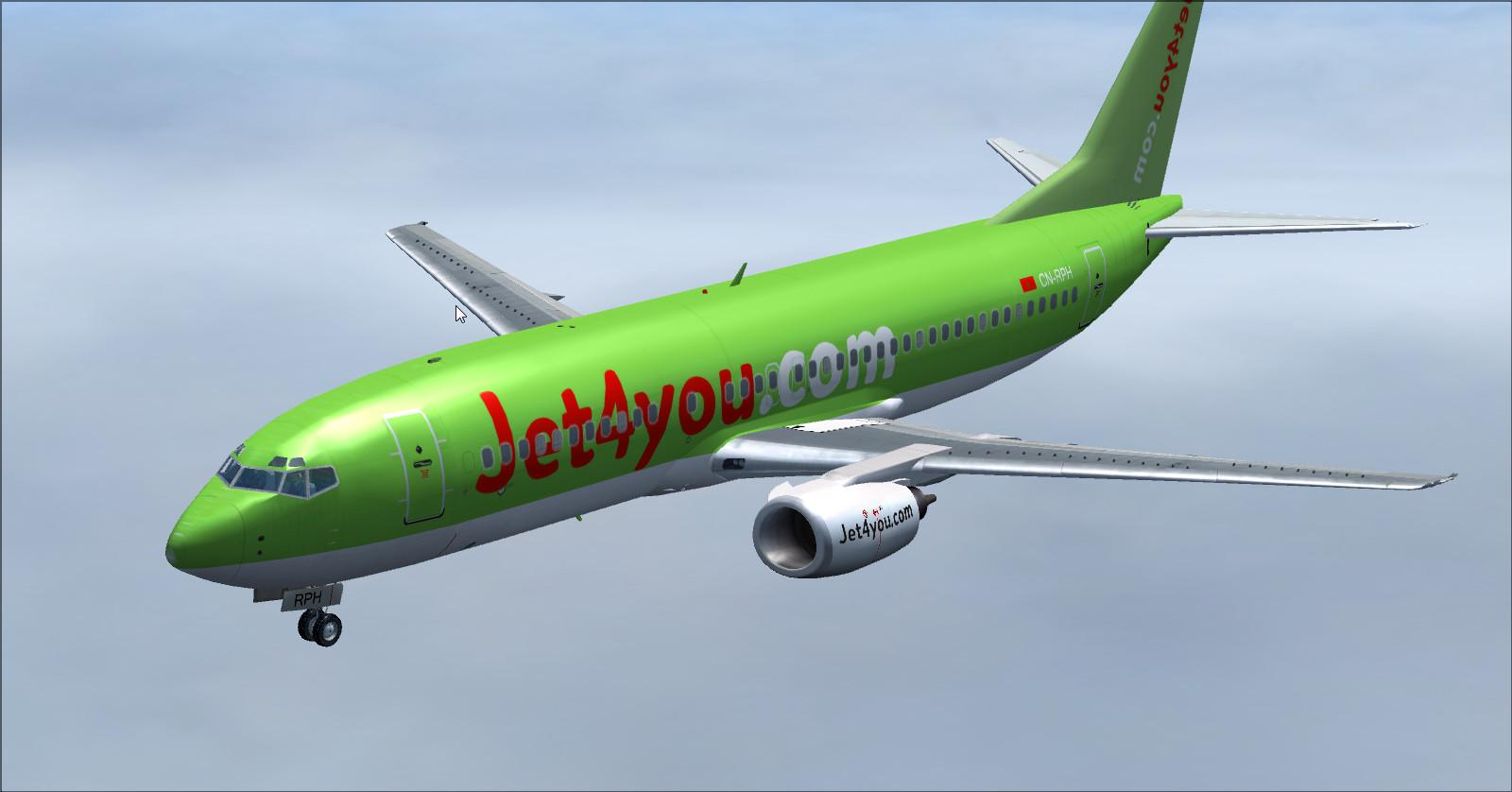 Boeing 737 400-Jet4you