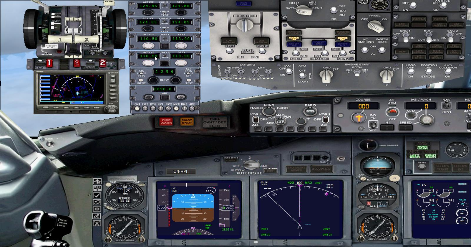 Painel Boeing 737-400