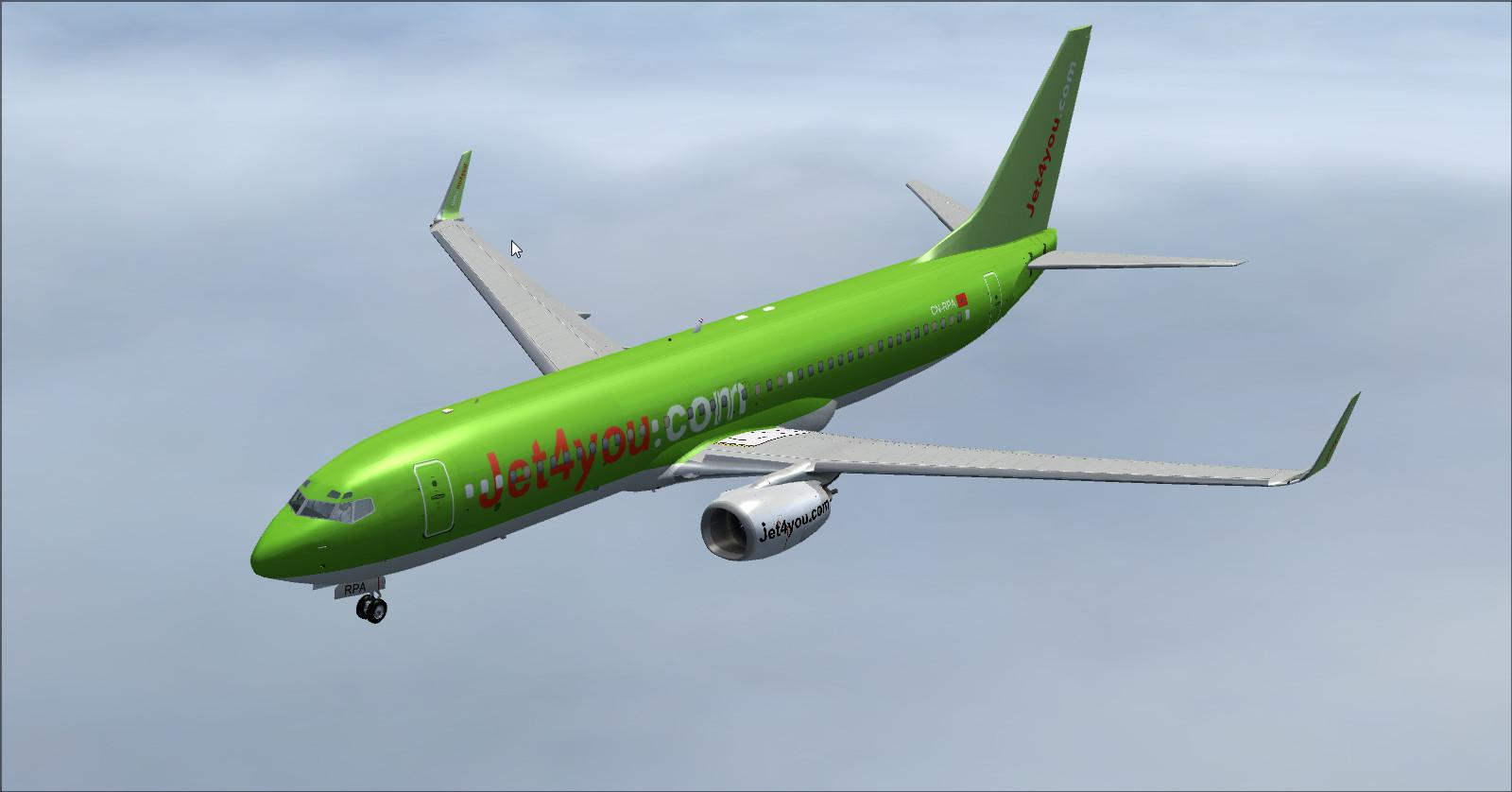 Boeing 737 800-Jet4you