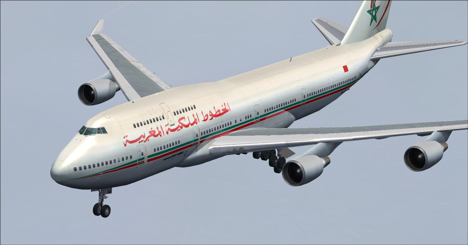 Boeing 747 400-RAM