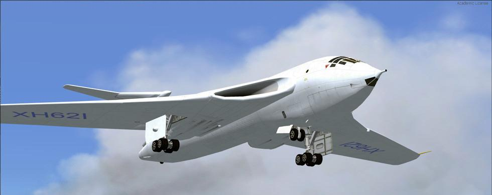 intro Handley-Page Victor FSX P3D