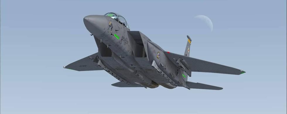 IRIS Boeing F-15E Strike Eagle FSX & P3D - Rikoooo