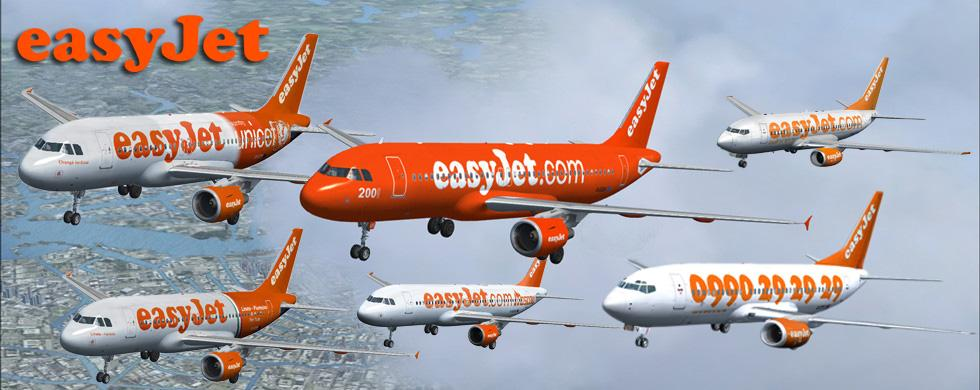 EasyJet Fleet FSX-P3D intro