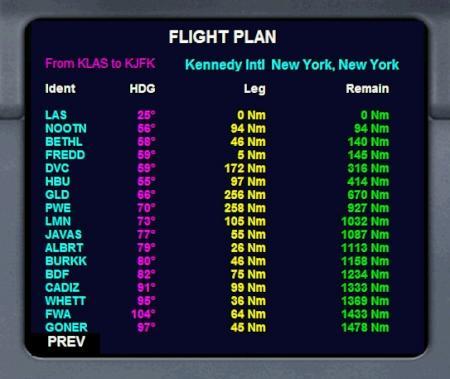 Flightplan Popup