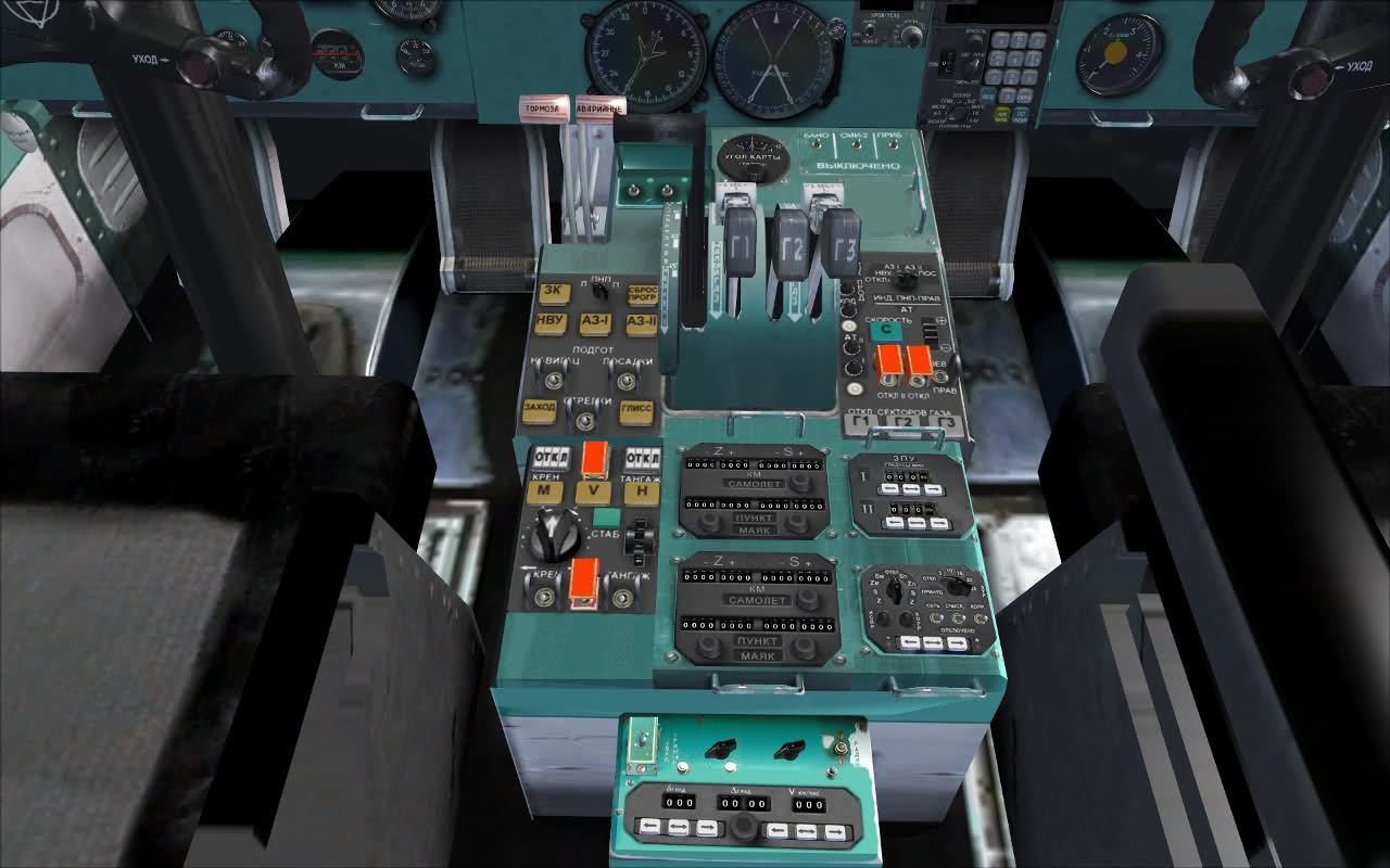 Project Tupolev Tu-154M free download Windows