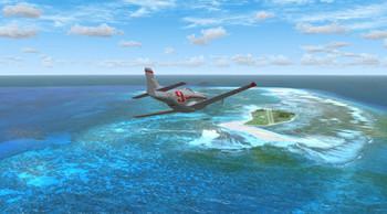 אגודל האי FSX פלאט