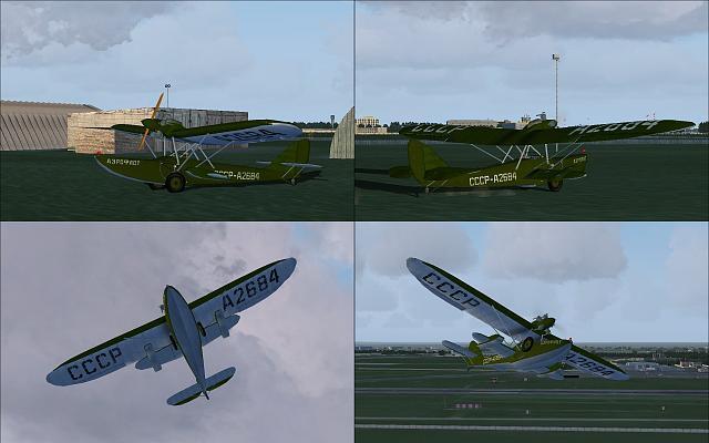 Shavrov 1930 Sh-2 v1.5 X-Plane Giới thiệu 9