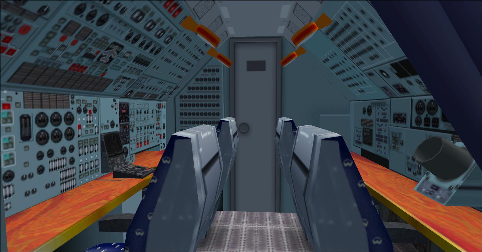 Antonov An-225 interjeras
